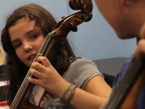 music lesson strings