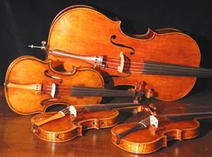 quartet of strings